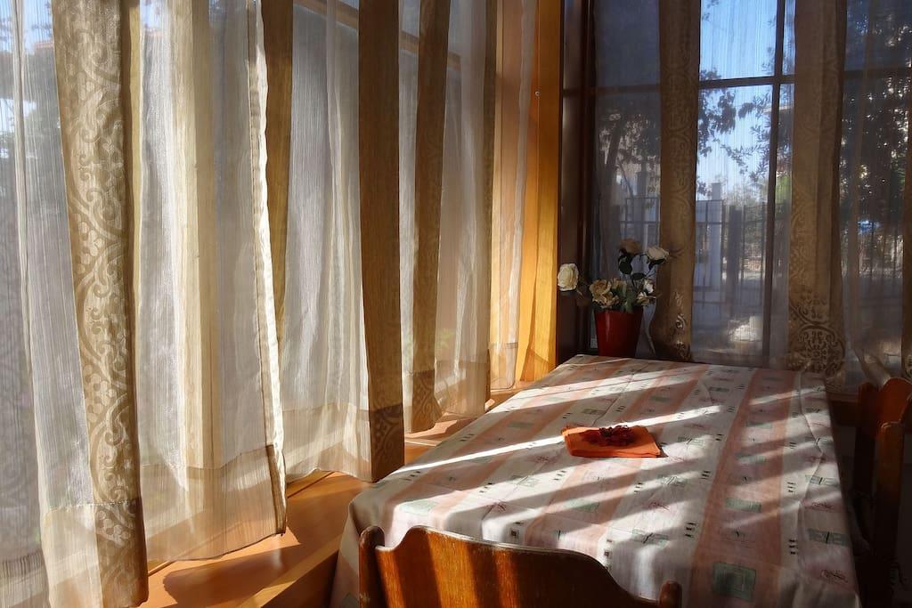 Terrasse - véranda privée