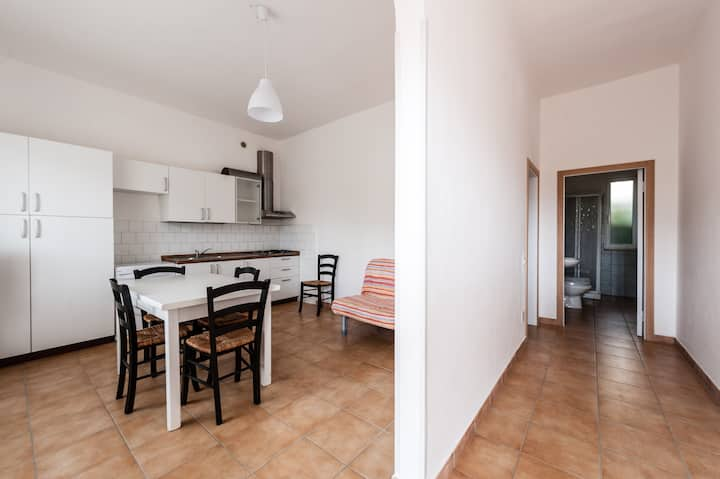 Apartament for 6 people next to the seaside