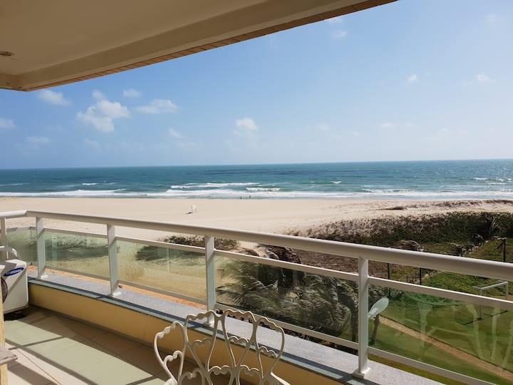 Lindo apartamento na praia !!!