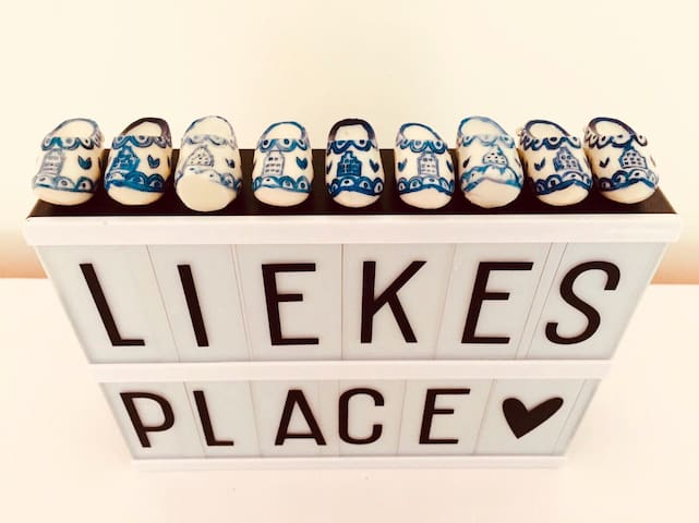 Love from Lieke's place!