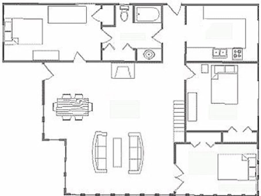 3rd Floor Apartment Layout