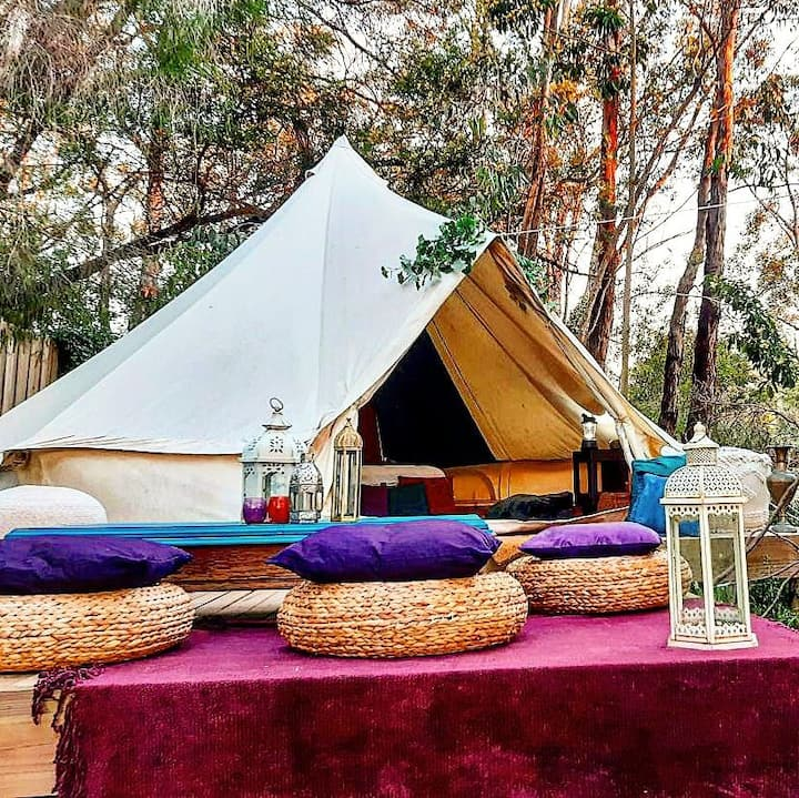 Bushland Bells - a cosy bell tent eco stay