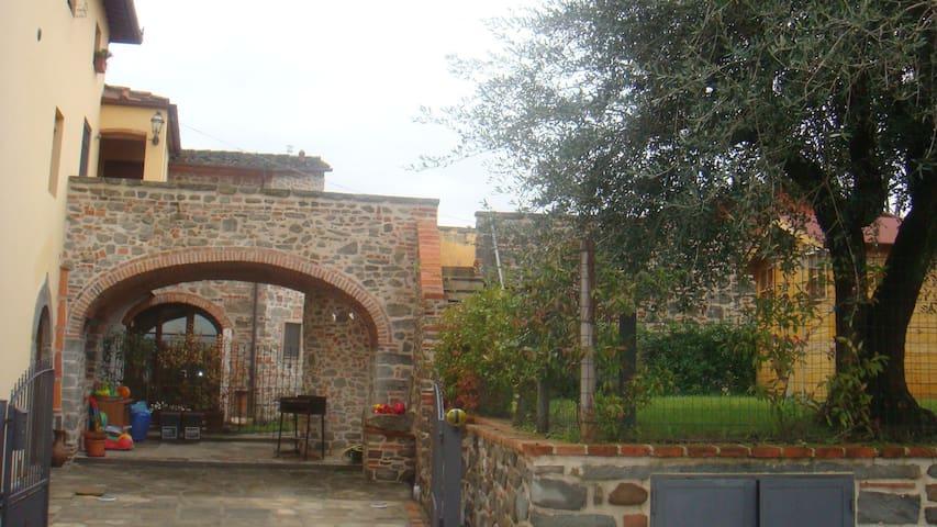 appartamento in villa tipica toscana - Lamporecchio - Lägenhet