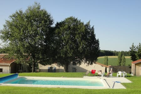 Laurier Holiday Cottage with Pool - Juignac