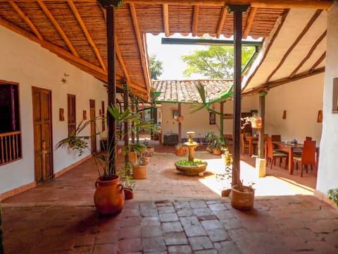 Dormitorio en Barichara