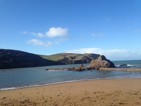 A home from home in Hope Cove, Devon