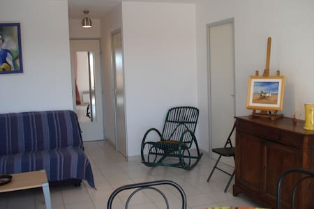 Valras très agréable appart T3 vue mer 6pers centr - Valras-Plage - 公寓