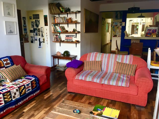 Miraflores. Private room in cozy apartment
