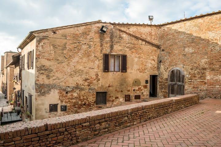 Casa al Cantone borgo medievale di Certaldo Alto