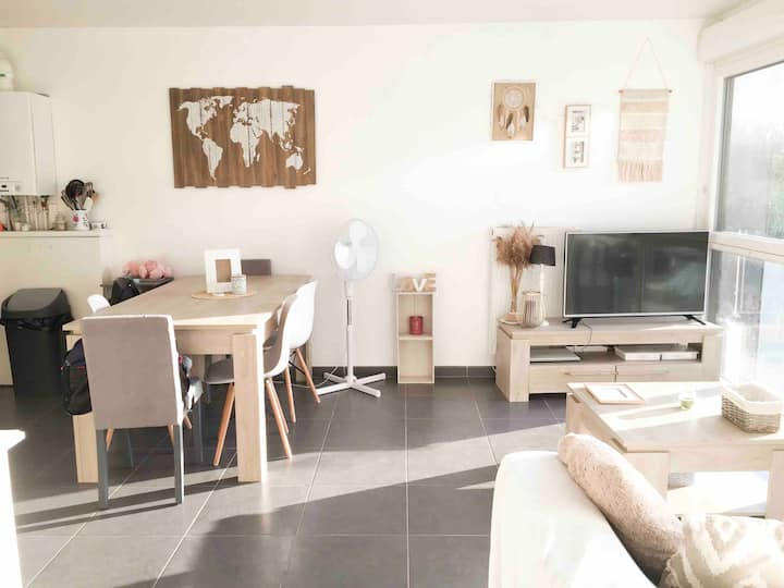 Appartement cosy au Centre d'Amiens Sud