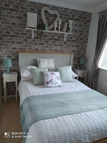 Light and airy room in a quiet area