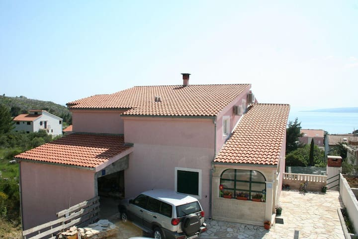 Two bedroom apartment with terrace and sea view Promajna, Makarska (A-2691-a) - Promajna - Byt