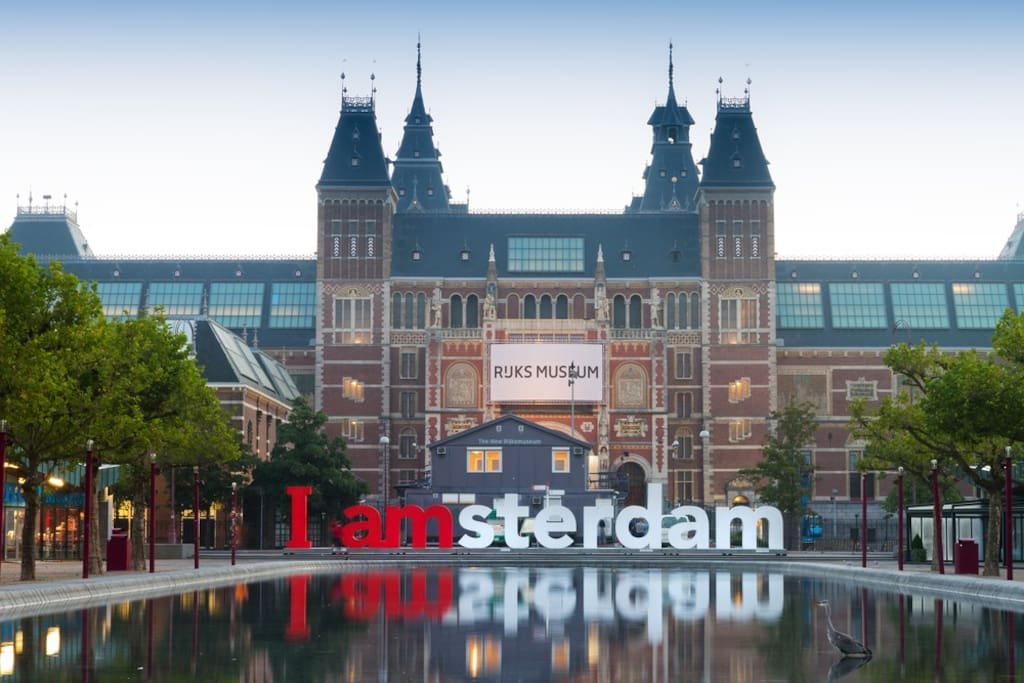 Nearby Amsterdam. Visit the Rijksmuseum, Van Gogh museum and the Anne Frank house!