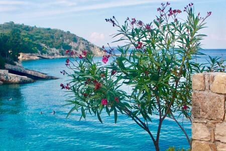 Levrechio Postcard Villas - Harmonia Loggos Paxos