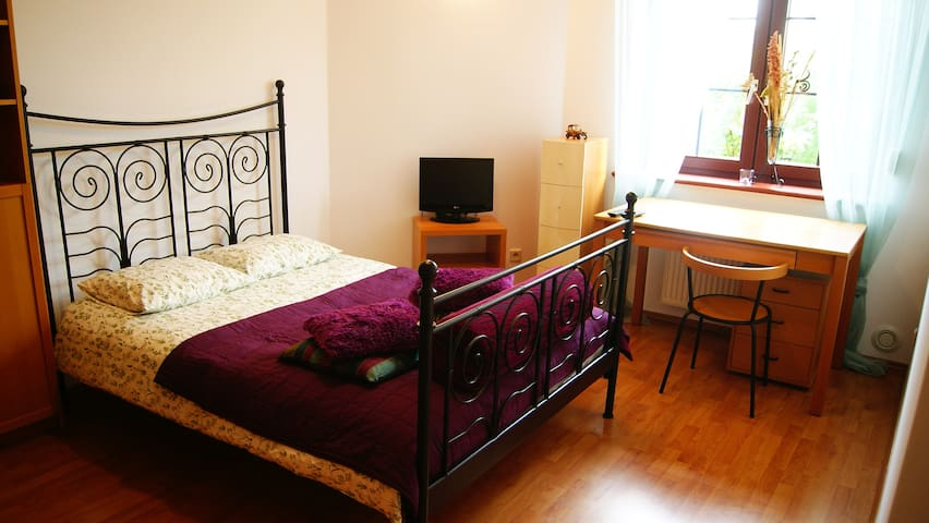 Cosy room with big double bed - Wrocław - Appartamento