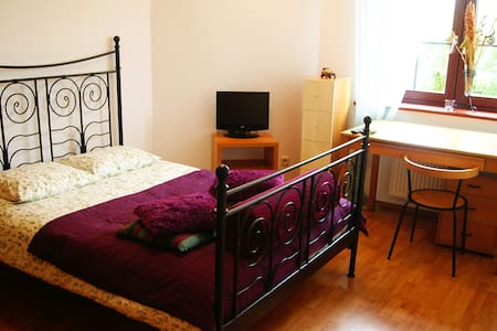 Cosy room with big double bed - 弗羅茨瓦夫(Wrocław)