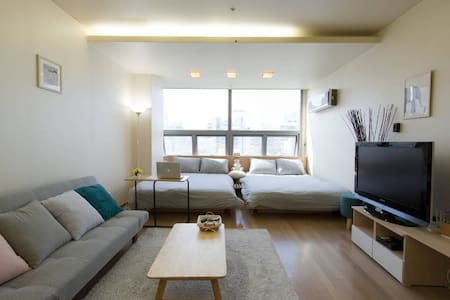 [Gangnam Stn#5]New! Spacious&Clean&Comport studio