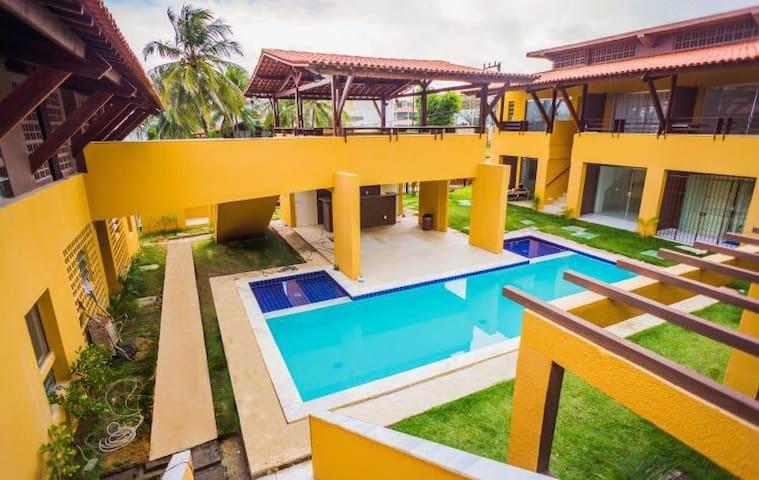 Apartamento Beira Mar Enseada dos Corais - Cabo de Santo Agostinho - Lägenhet