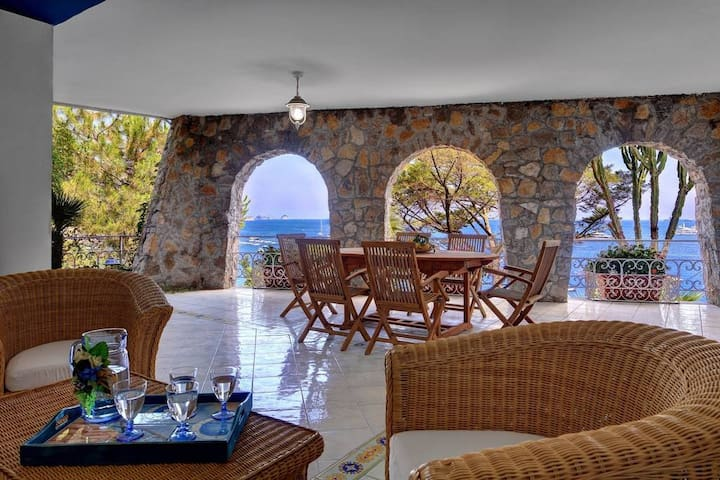 Villa Al Mare With Private Sea Access - Nerano - Villa