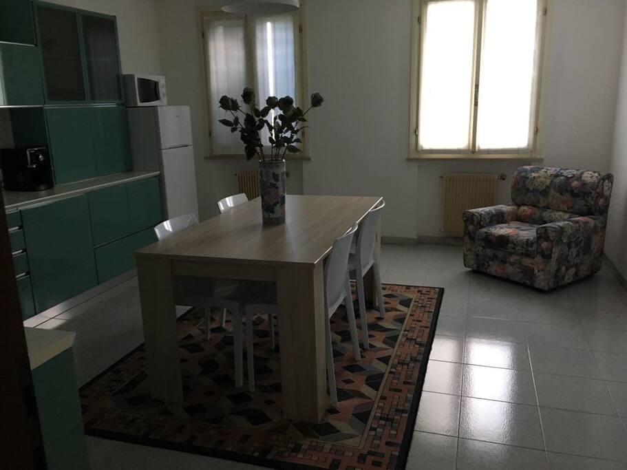 Cucina a disposizione degli ospiti