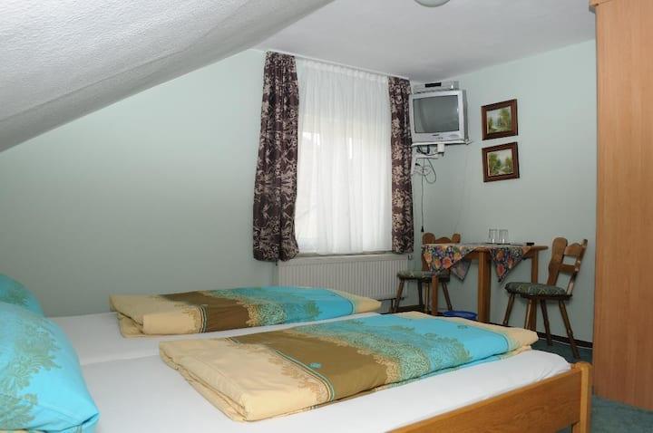 Pension Holzapfel (Essing), Doppelzimmer mit WLAN, 16qm