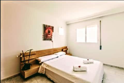 Double Big Room Marina Botafoc.