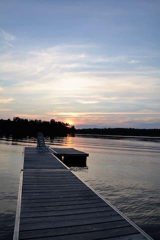 Bord de lac , Laurentides