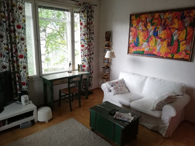 Nice apartment in idyllic Pispala area