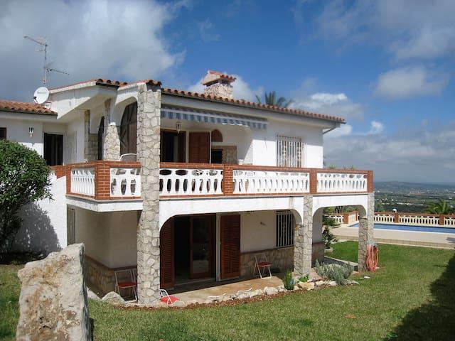 Great villa, swimming pool & garden - Peníscola - Hus