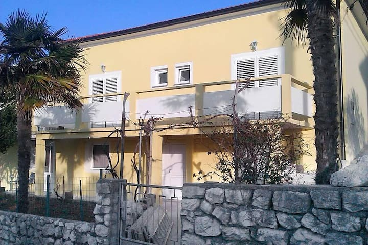 One bedroom apartment with terrace Lun, Pag (A-9395-c) - Lun - Flat