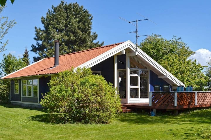 Modern Holiday Home in Syddanmark with Garden