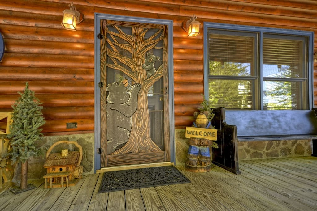Dances With Wolves Front Door