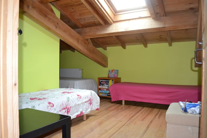 The attic room - Alet-les-Bains