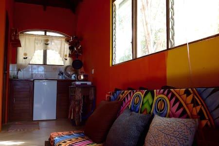 Ocean view cabin, with kitchen. - Tamarindo - Casa