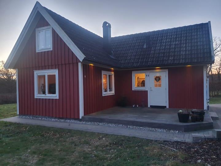 Charmigt litet hus