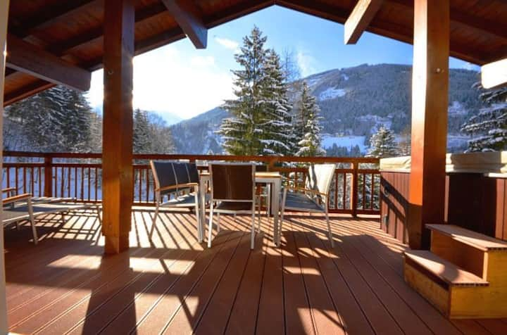 Penthouse Cooper - exquisite penthouse with a large balcony and whirlpool, superb location