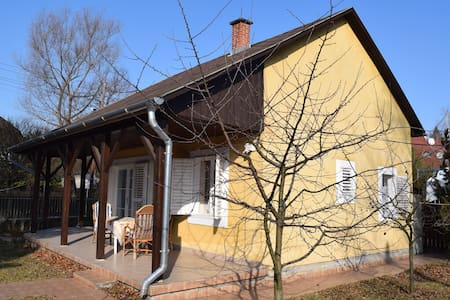 Cozy cottage 500m from the lake - Siófok - Bungalow