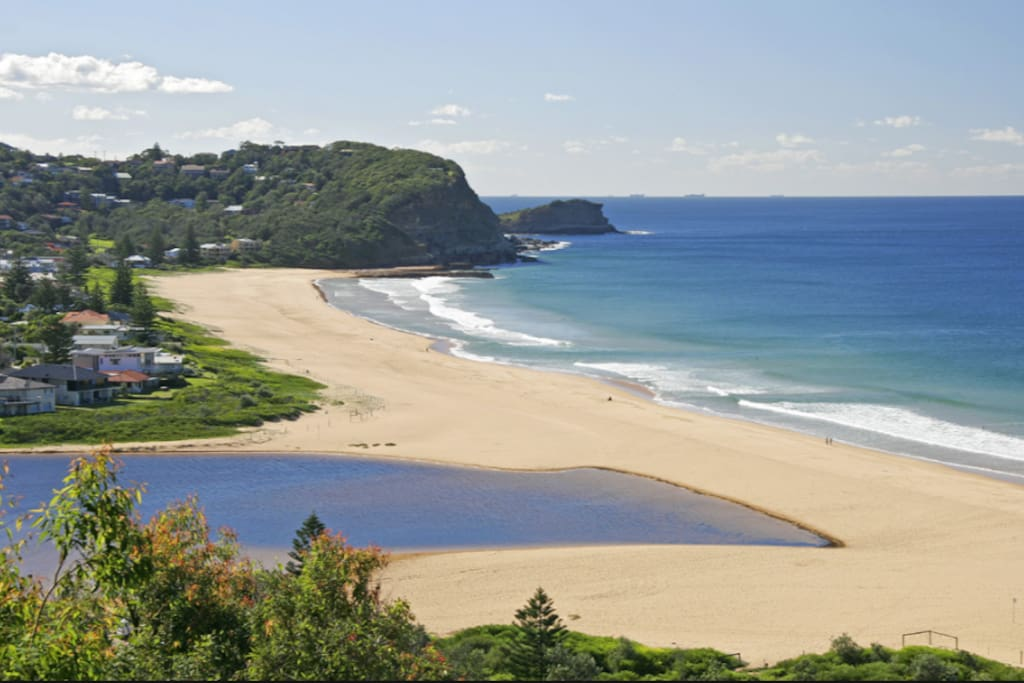 North Avoca (not actual view)