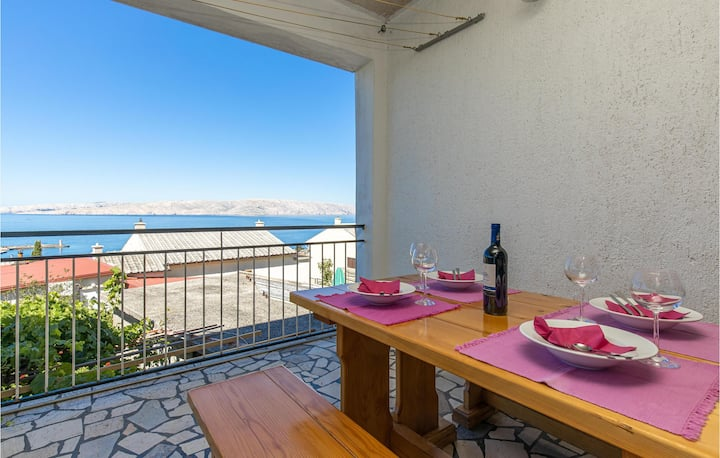 Amazing home in Senj with WiFi and 1 Bedrooms