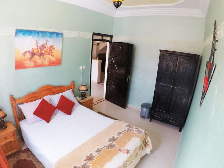 Double Room in a Surf Camp