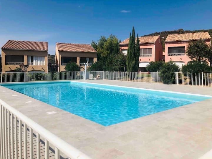 Appartement avec piscine à 2 min de Saint-Florent