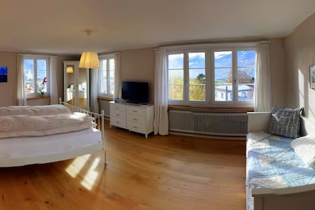 "Schnuppern Sie ""LANDLUFT"" in Wolke7 - Malans - Bed & Breakfast"