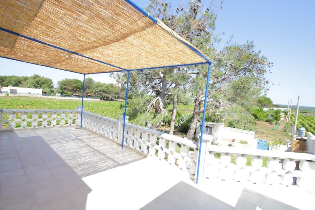 Terrazza vista giardino  - Green Villa