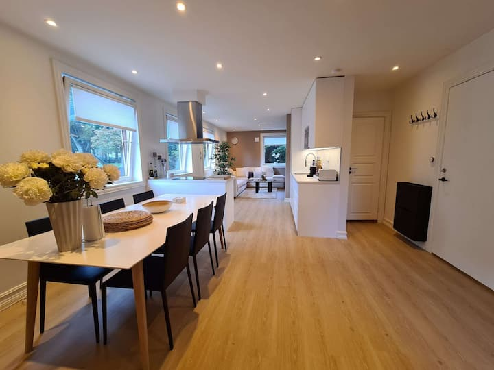 ★Central Lux Stavanger - Modern 2 BR Near Center