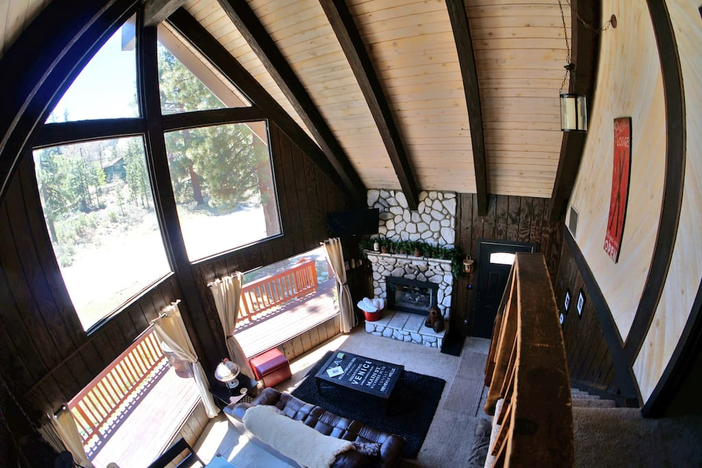 Rustic A-Frame Chalet
