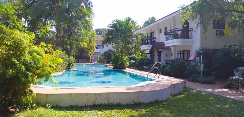 Vila Goesa Beach Resort - Calangute - Bed & Breakfast