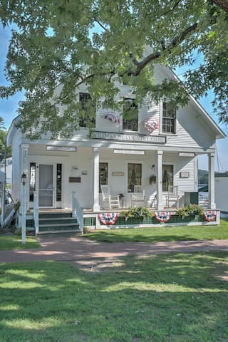Several quaint shops in the harbor for unique finds.  Shoppers love the harbor!