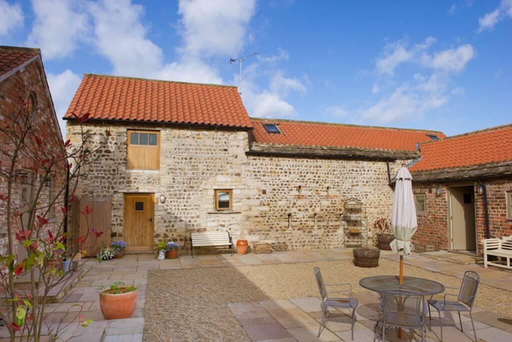 The hayloft beautiful romantic retreat for 2 pensione in affitto a littlethorpe regno unito - Lino 5 metre de large ...