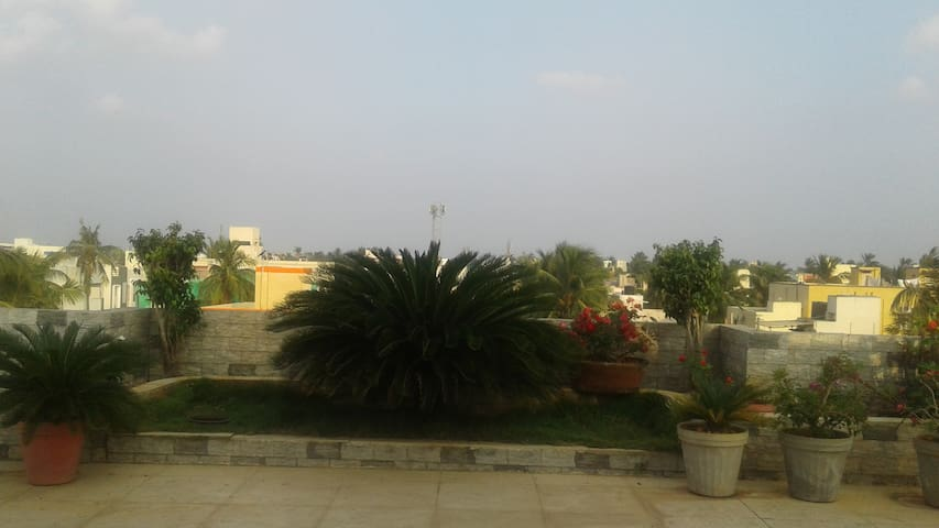 2  BHK Pent  House with  garden
