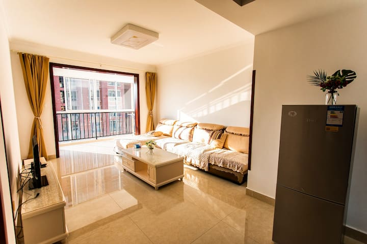 高黎贡国际旅游城 ‖ 清新舒适两居公寓